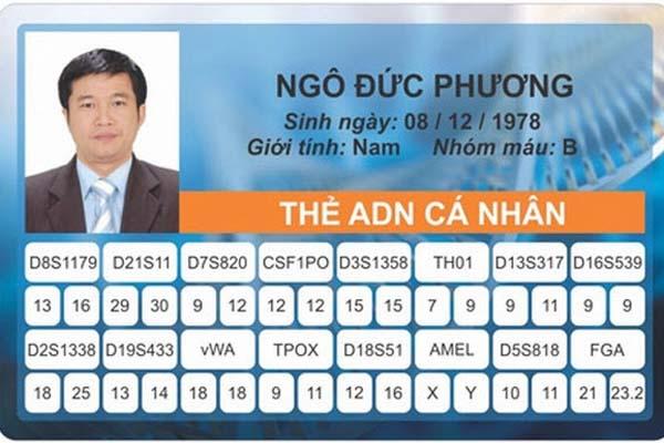 thẻ ADN cá nhân